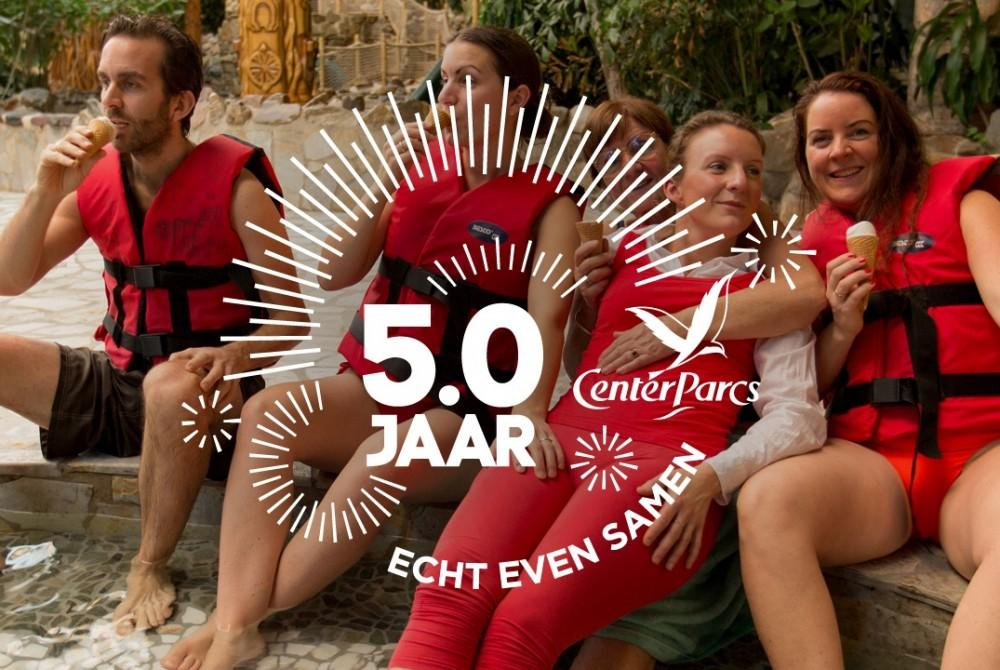 Center Parcs bestaat 50 jaar