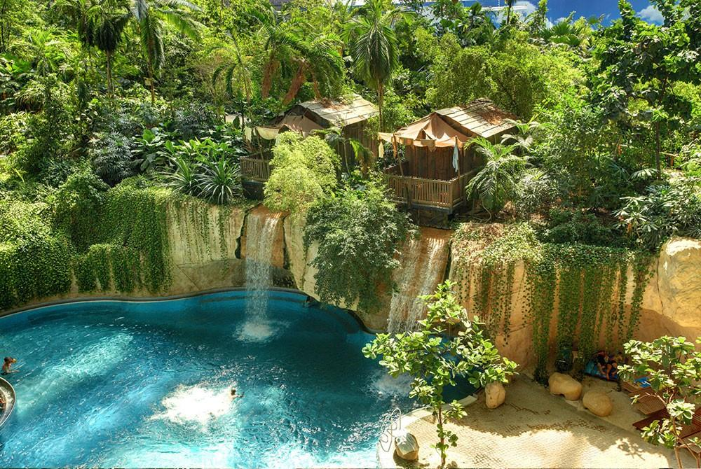 Tropical Islands resort huisjes