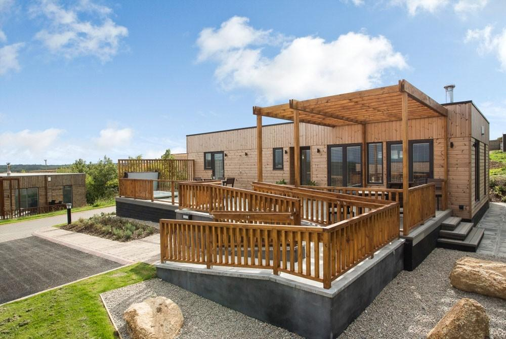 Luxe lodge Landal Gwel an Mor