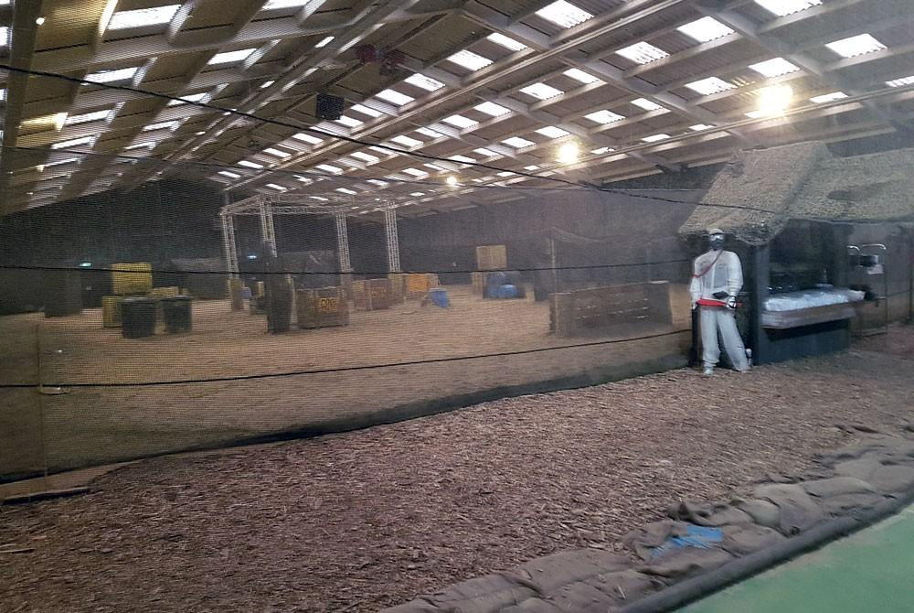 Paintball indoor, Center Parcs Het Heijderbos