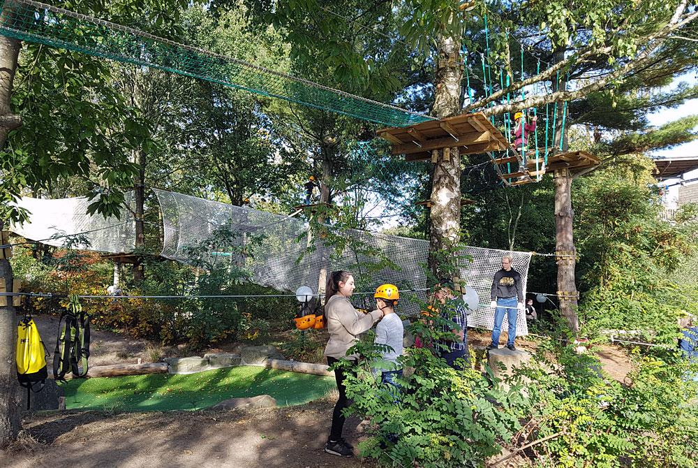 High Adventure Experience, Center Parcs De Huttenheugte