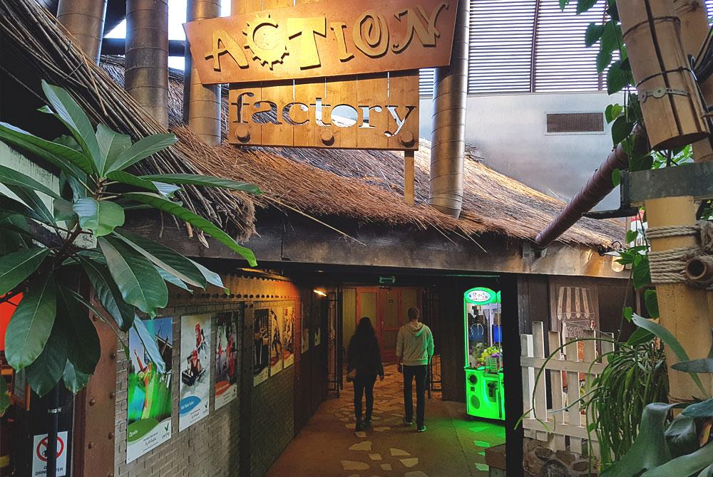 Action Factory, Center Parcs De Huttenheugte