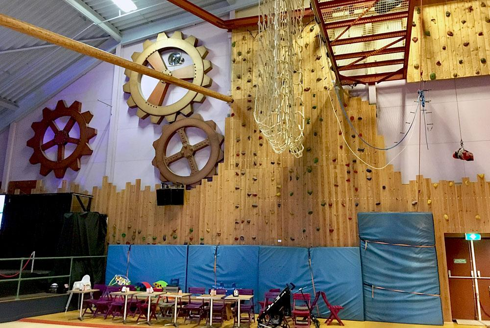 High Adventure Experience (indoor), De Huttenheugte