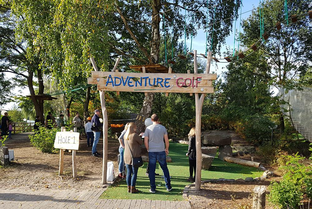 Adventure Golf, Center Parcs De Huttenheugte