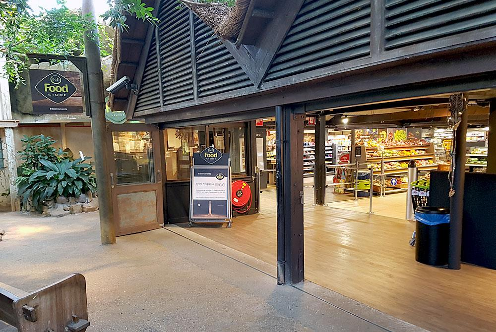Deli Food Store op Center Parcs De Huttenheugte
